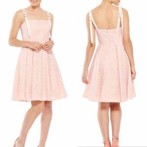 Gal Meets Glam Dresses - Gal Meets Glam Helen Grosgain Tie Dress Floral
